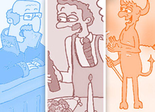 Emre Aksoy'dan 5'i bir arada karikatürler